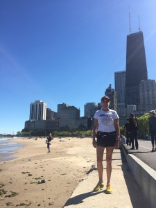 Running tour of Chicago